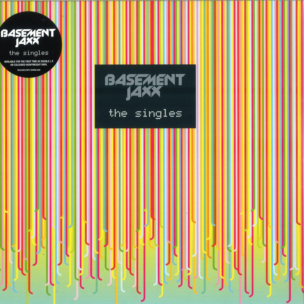 Basement Jaxx The Singles Coloured Vinyl Edition Xl