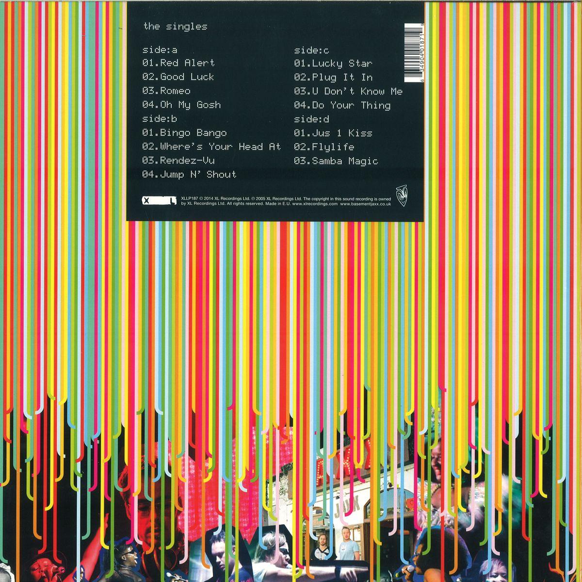 Basement Jaxx The Singles Coloured Vinyl Edition  XL Records - Basement jaxx good luck