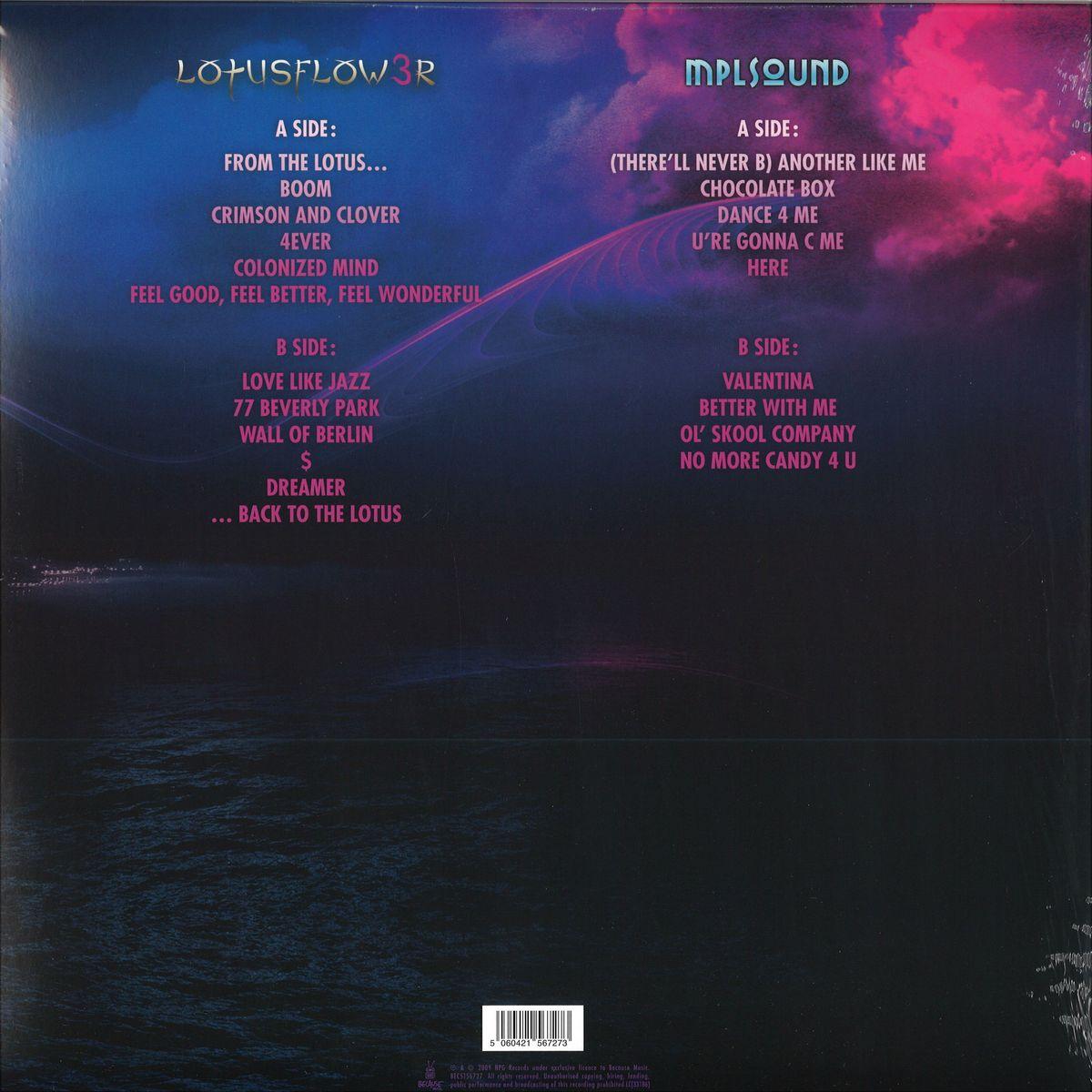 Prince Lotus Flow3r 2017 Edition 2x12 Because Music