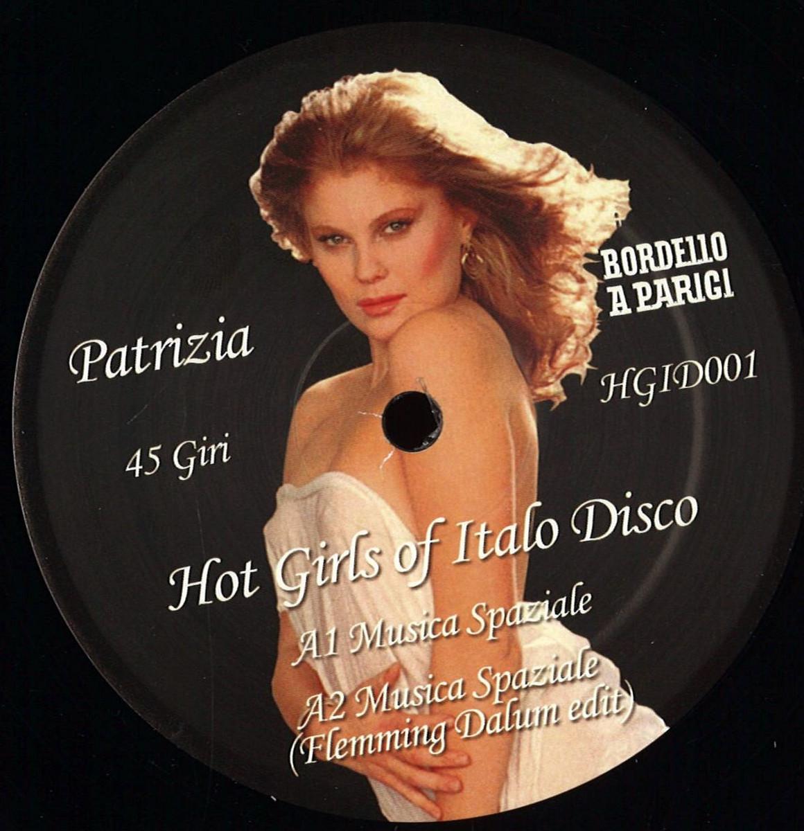 Various - Hot Girls Of Italo Disco / Bordello A Parigi HGID001RE - Vinyl