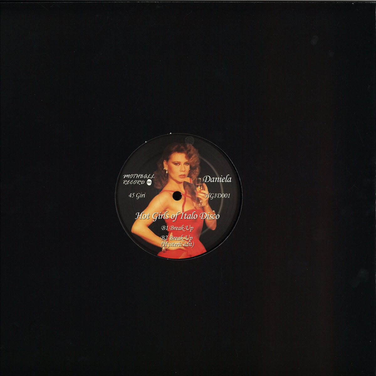 Various - Hot Girls Of Italo Disco / Bordello A Parigi HGID001RE - Vinyl