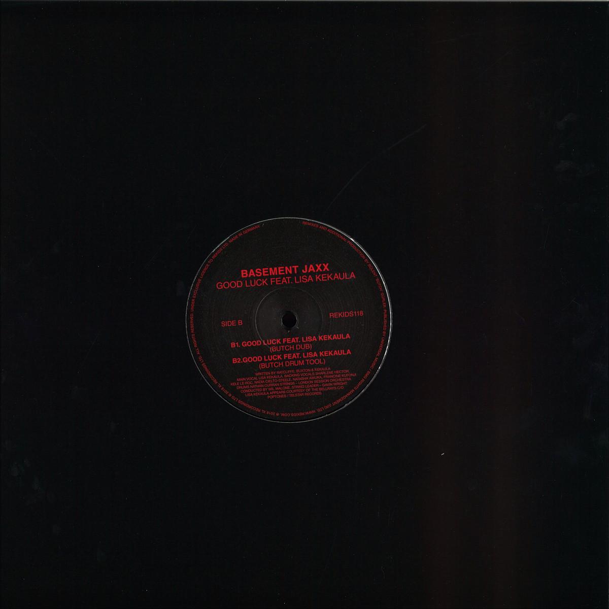 Basement Jaxx Feat Lisa Kekaula Butch Good Luck Butch Remixes Rekids Rekids118 Vinyl