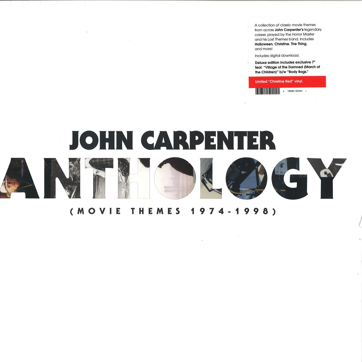 John Carpenter - Anthology: Movie Themes 1974-1998 / Sacred