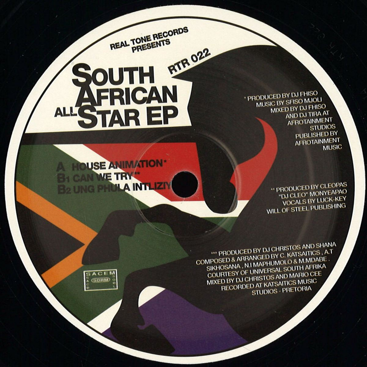 Real Tone Records - South African All Star Ep / Real Tone