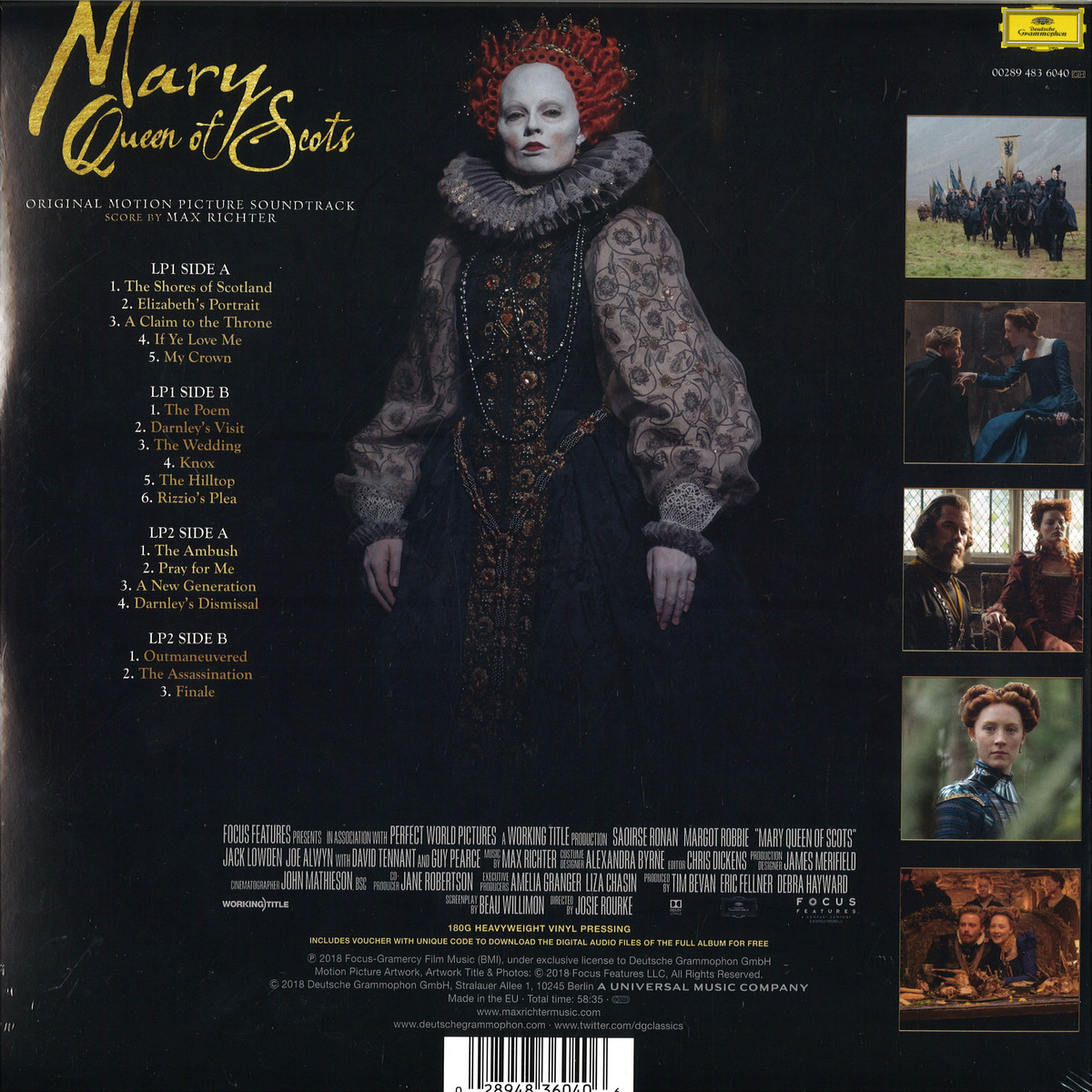 Mary queen of scots soundtrack