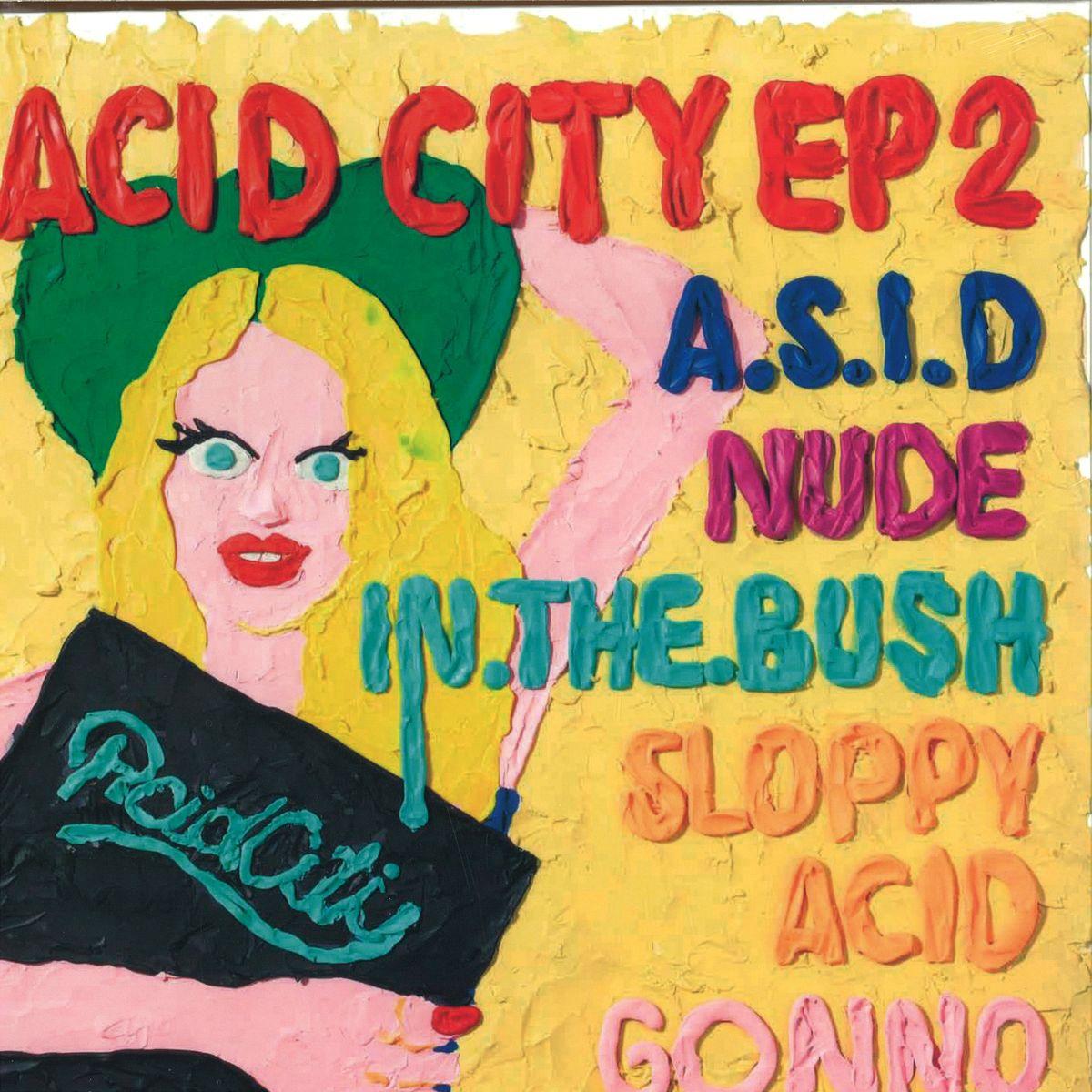 Various Artists Acid City Ep 2 Uk England Nm21034 Vinyl