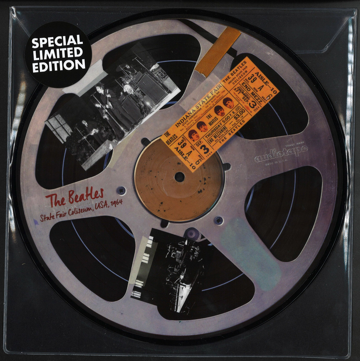 Beatles - Live At Indiana State Fair / Reel To Reel BEATLP14