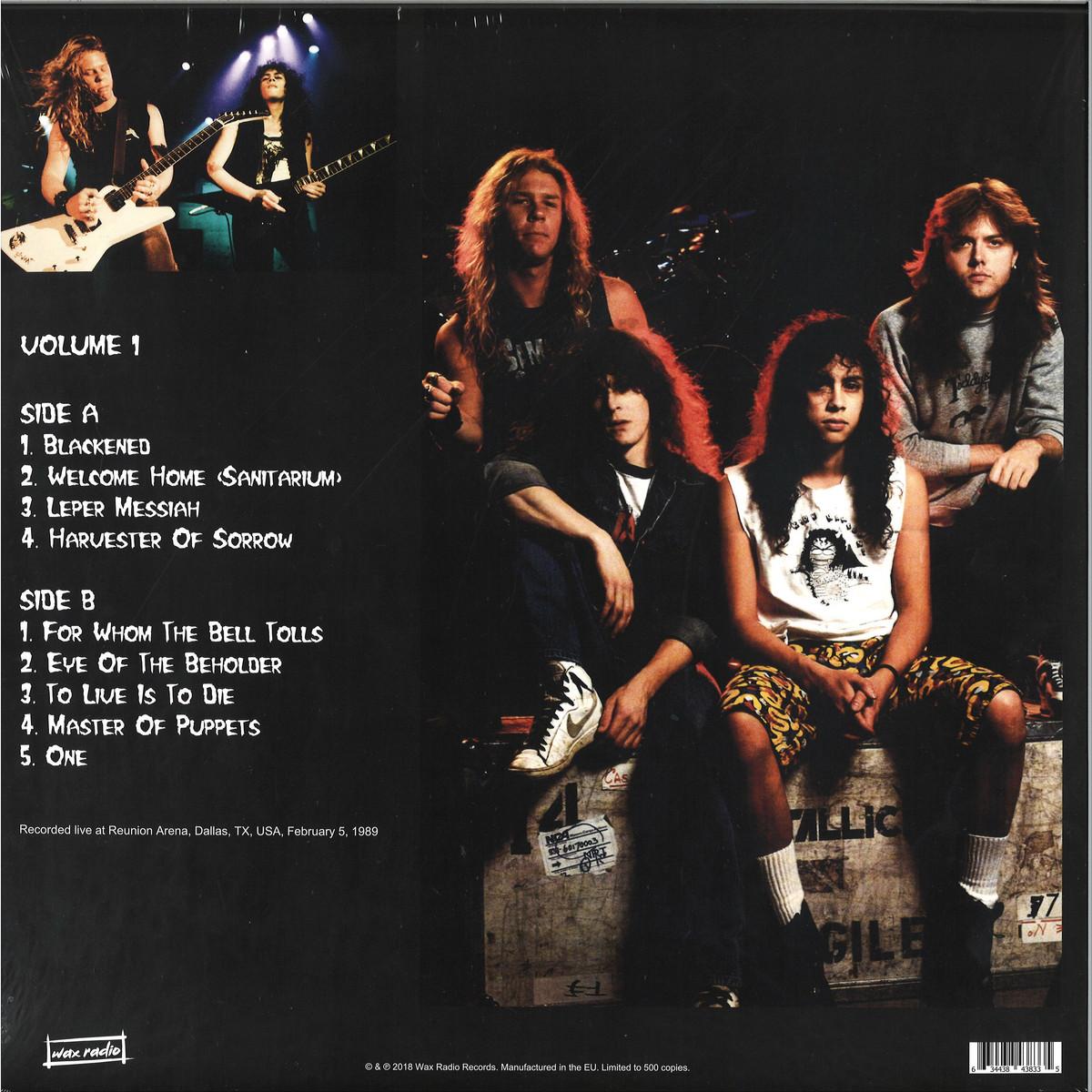 Metallica - Blackened: The Dallas Arena Broadcast Volume 1