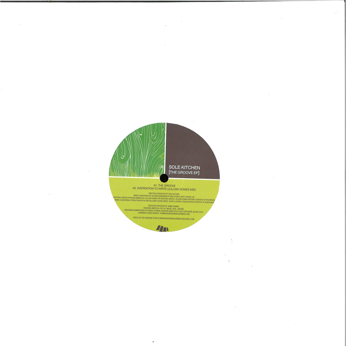 Sole Kitchen The Groove Ep Seasons Limited Sl78 Vinyl