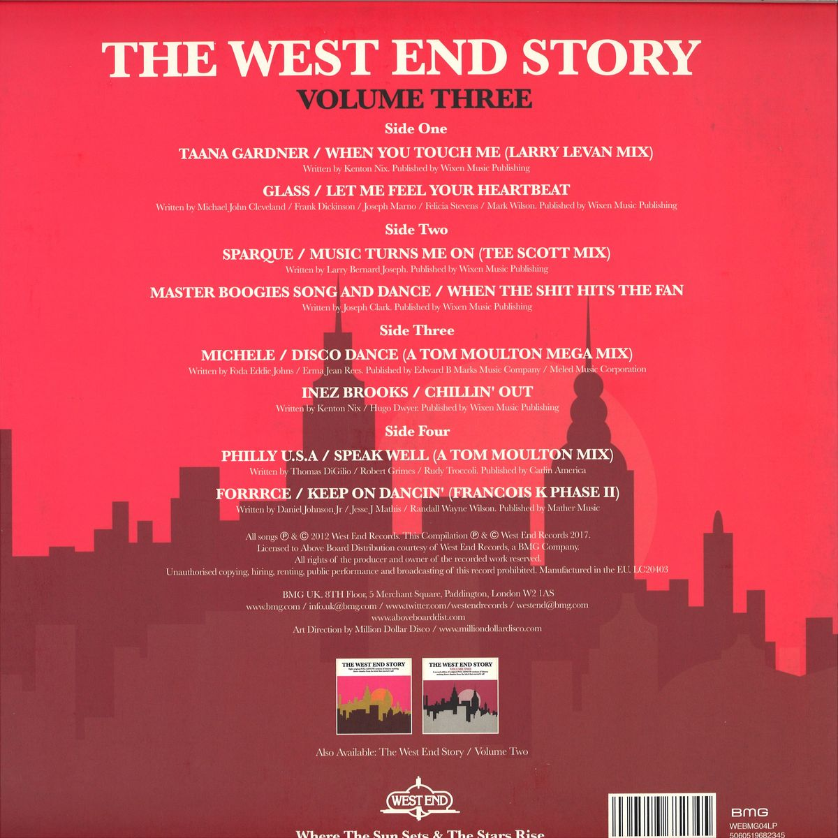 deejay de - WEST END RECORDS