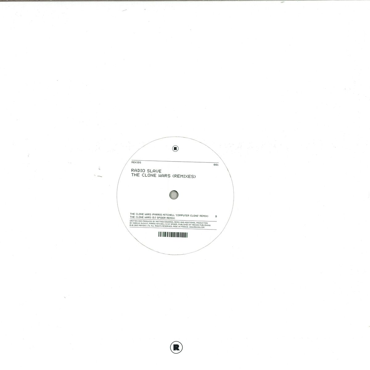 DJ Spider - The Return Of Planet X EP