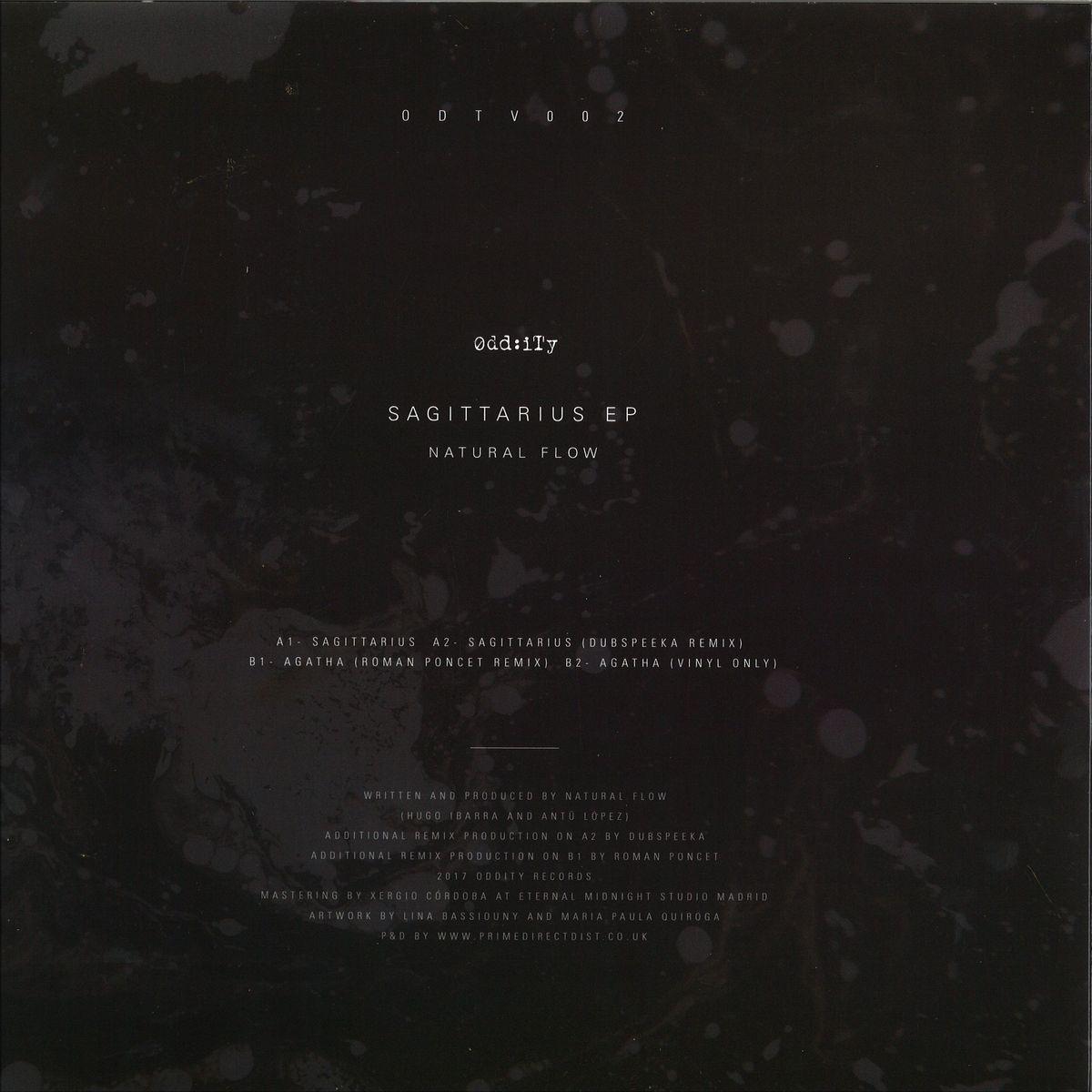 Natural Flow Sagittarius Ep Oddity Records Odtv002 Vinyl