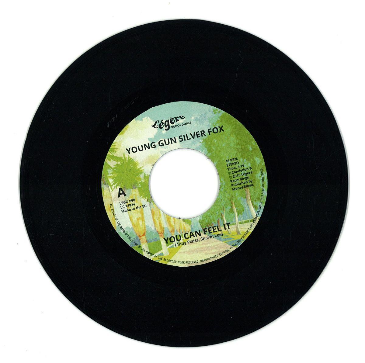 Young Gun Silver Fox   You Can Feel It / LEGERE RECORDINGS LEGO100   Vinyl