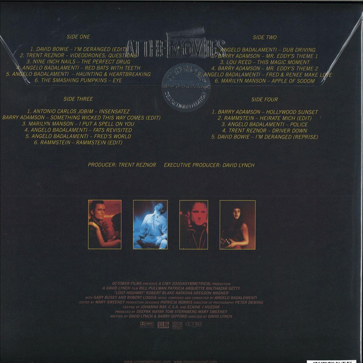 Original Soundtrack - Lost Highway / Music On Vinyl MOVATM101 - Vinyl