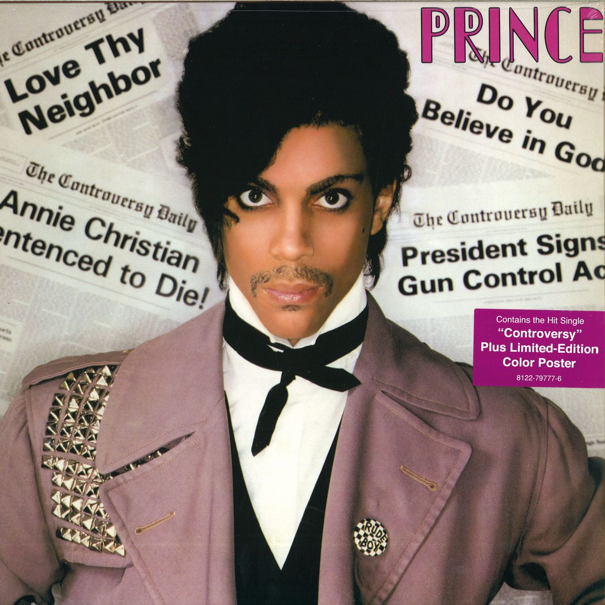 Prince controversy sony music entertainment 8122797776 12inch