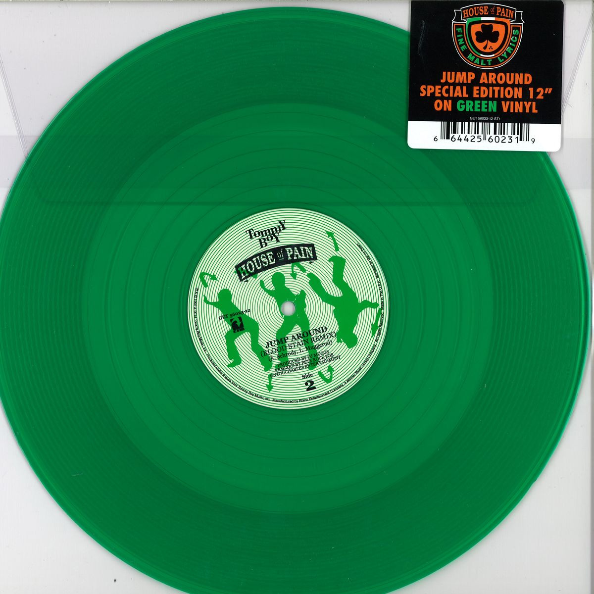 House Of Pain Jump Around Get On Down Get56023 Vinyl