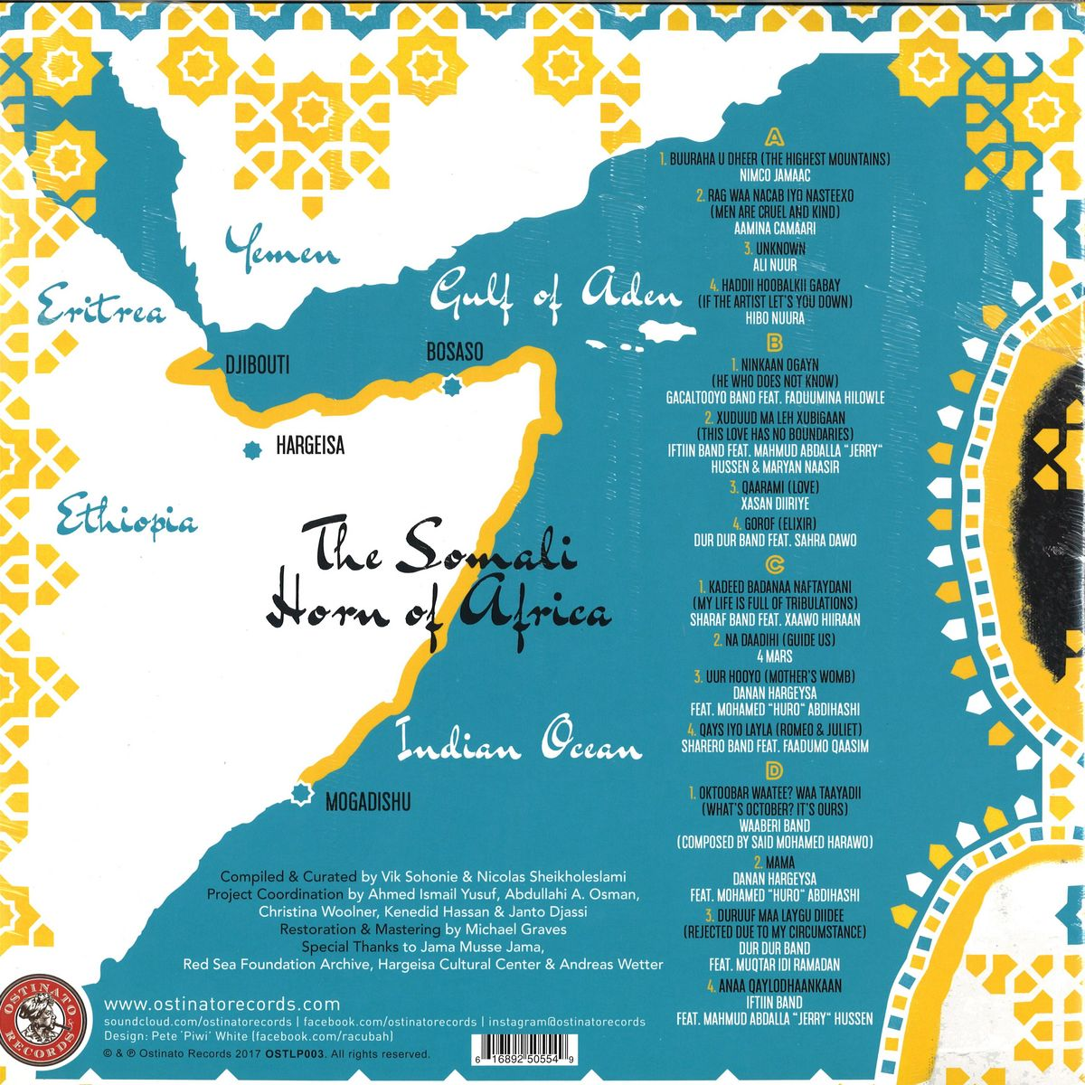 Various Artists - Sweet As Broken Dates: Lost Somali Tapes From The